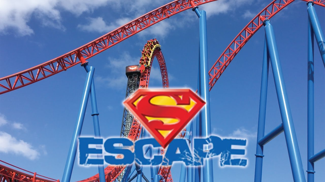 Superman Escape Movie World Gold Coast Australia 2017 Hd Youtube