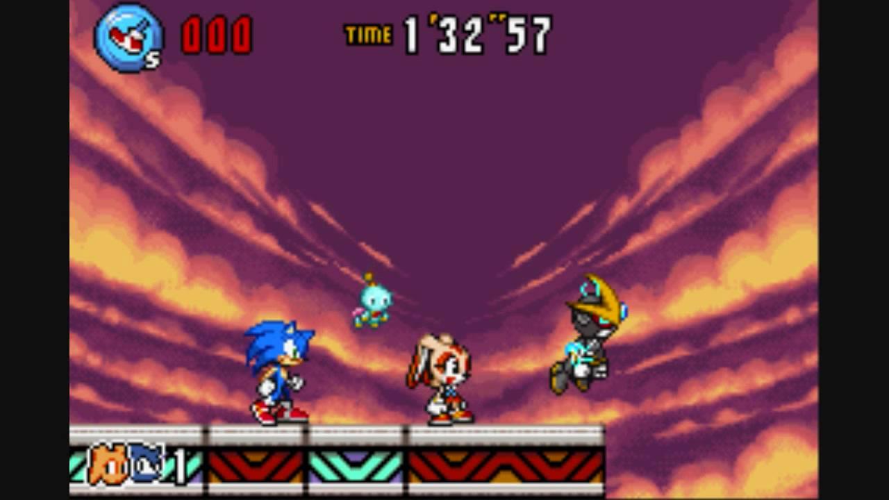 Sonic Advance 3 Final Boss(not EX-Boss Final Zone)