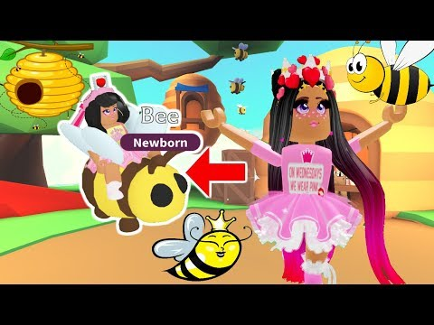 BEE'S ARE FINALLY IN ADOPT ME! MAKING A BEE FAMILY WITH MY DAUGHTER!-Roblox Adopt ME