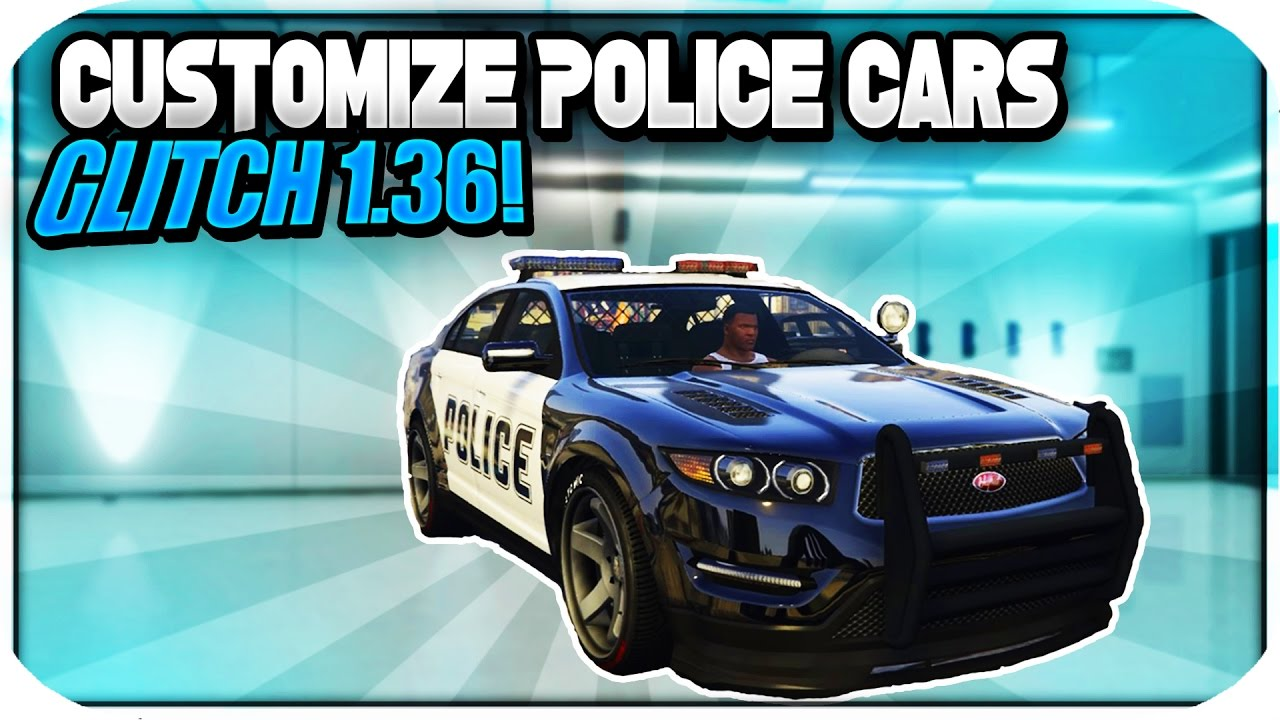 how to customize a cop car in gta 5