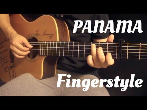 Panama - Matteo Fingerstyle Guitar Cover by Toeyguitaree (Tab)p
