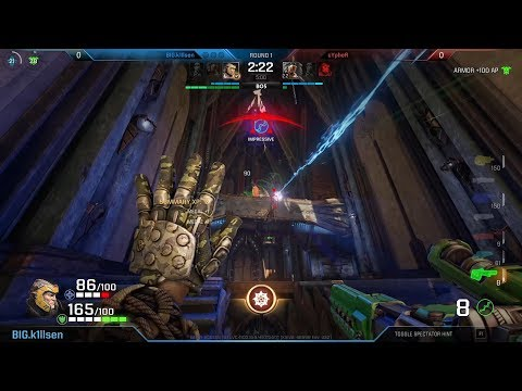 Cypher vs. k1llsen (Final, Quake Open League #8) – Quake Champions