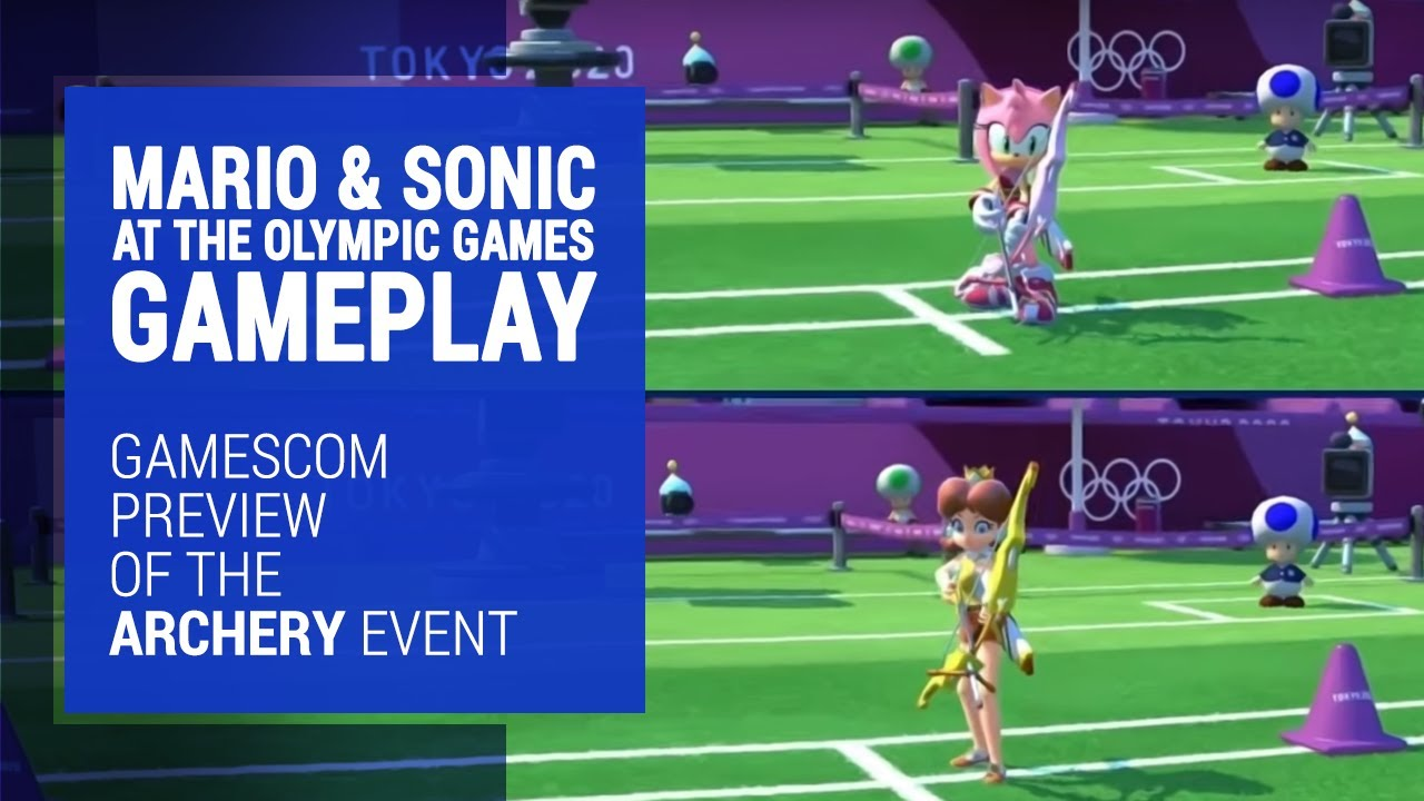 Archery (Mario & Sonic at the Olympic Games for DS ...