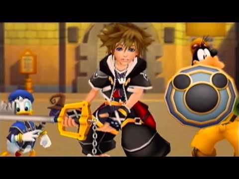 Kingdom Hearts II - Title Screen Opening Movie