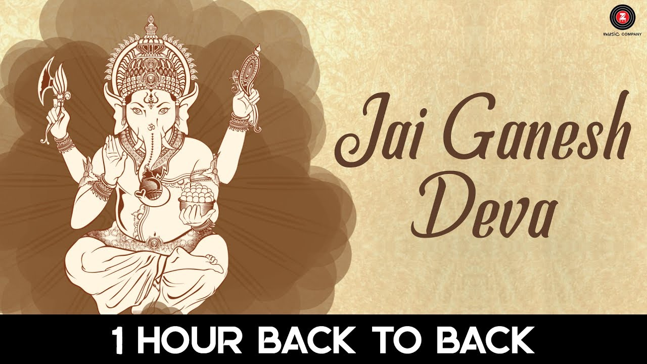 Jai Ganesh Deva - 1 Hour | Aakansha Sharma | Hear daily for Good Luck, Wealth | Zee Music Devotional