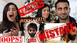 BEKHAYALI Music Video REACTION | KABIR SINGH | Shahid Kapoor | Kiara Advani