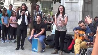 Flamenco dance (10) in Granada 2015