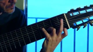 Happy Birthday 2016 - Fingerstyle Acoustic 10 strings Guitar Solo - Maurizio Verna