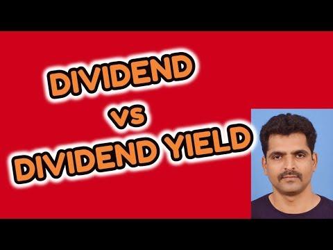 Dividend vs Dividend Yield | Stock Market Tips