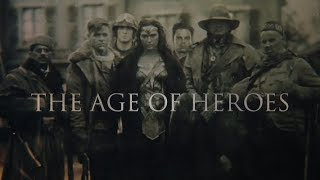 Captain America & Wonder Woman   The Age Of Heroes (MARVEL & DC)