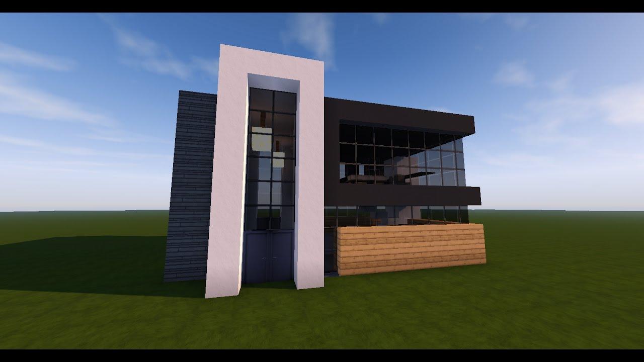 Tuto Minecraft  Comment Faire Une Petite Maison Moderne   YouTube