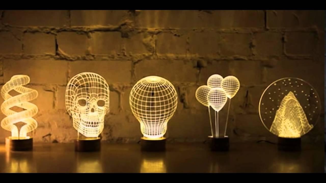 Diseos de Lmparas Creativas que Amaras Tener en tu Casa