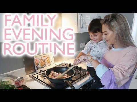 FAMILY EVENING ROUTINE | Lucy Jessica Carter AD