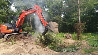 Keep That Fire Burning! Clearing, Burning, and Making a Borrow Pit