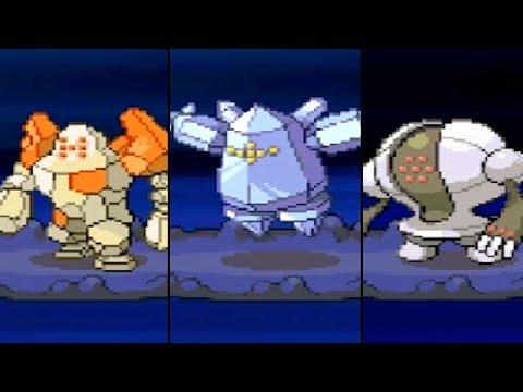 THE REGI TITANS! How To Catch Regirock, Regice, Registeel Encounter! - Pokemon Renegade Platinum