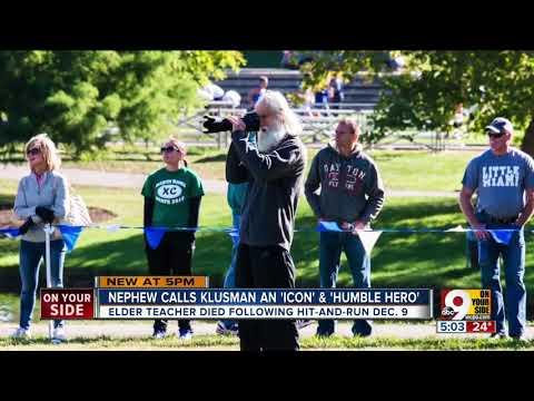 Mark Klusman's nephew says Elder teacher wouldn't judge woman accused in fatal hit-and-run