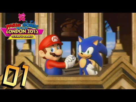 Mario and Sonic at the London 2012 Olympic Games: Part 1 - Athletics (Track) Travel Video