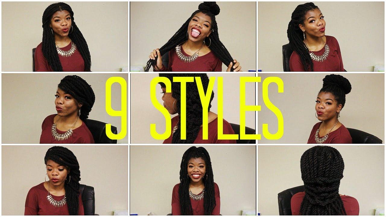 9 Ways To Style Your Marley Havana Twists Box Braids And