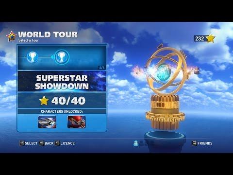 SASRT - Superstar Showdown - World Tour Walkthrough 4 Stars (PC)