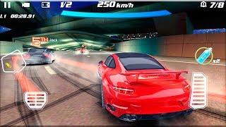Crazy Racing Car 3D - Gameplay Android game - street racing game