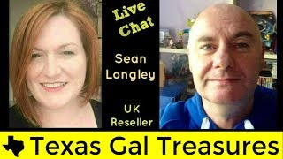 Interview #10 - Live Hangout - Q & A with Sean Longley -  UK Ebay Reseller