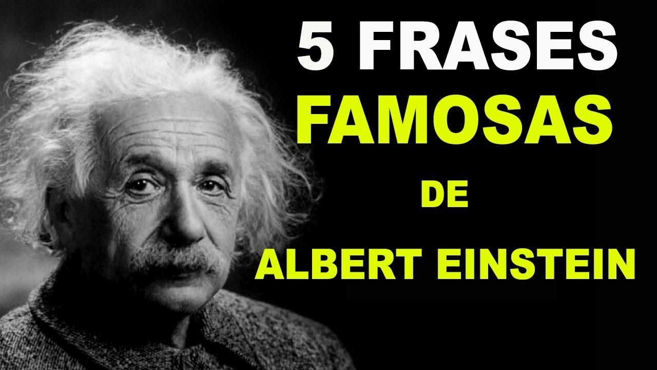 5 Frases De Albert Einstein Sobre Conhecimento Frases Famosas Einstein