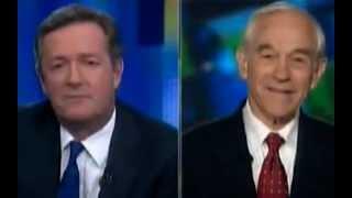 Ron Paul Slams Piers Morgan 3/26/2012 - Broken down by Dvorak Blog