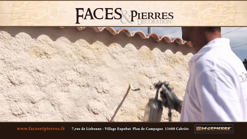 Populaire Decopierre par Faces Pierres Décoration - YouTube DM87