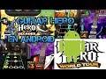 Como descargar guitar hero en android!