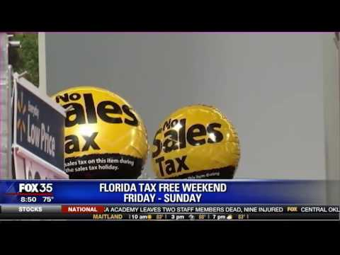 Florida Tax Free Weekend: Friday- Sunday