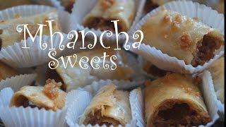 """حلويات المحنشة المطبخ المغربي """" M'hencha"""" Moroccan Almond Sweets Moroccan Cuisine"""