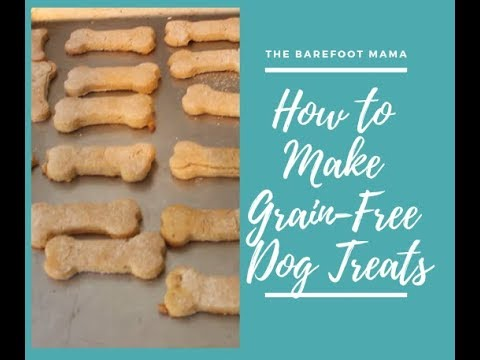 How To Make Grain-Free Dog Treats