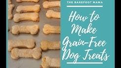 How to make Grain-Free Dog Treats