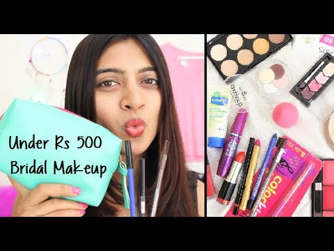 Under Rs 500 - BRIDAL Make-up Kit Products   Budget Beauty SuperWowStyle Prachi