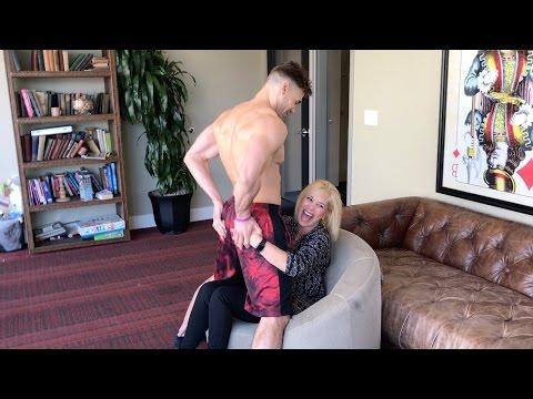 Mom Gets Lap Dance While Son Watches (Awkward) thumbnail