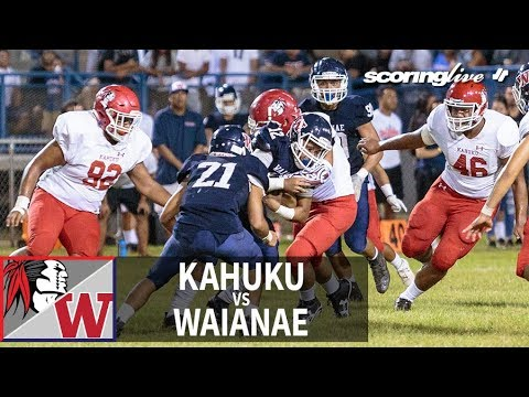 SL Replay | Kahuku vs. Waianae: OIA D1-Open Football (Aug. 17, 2018)