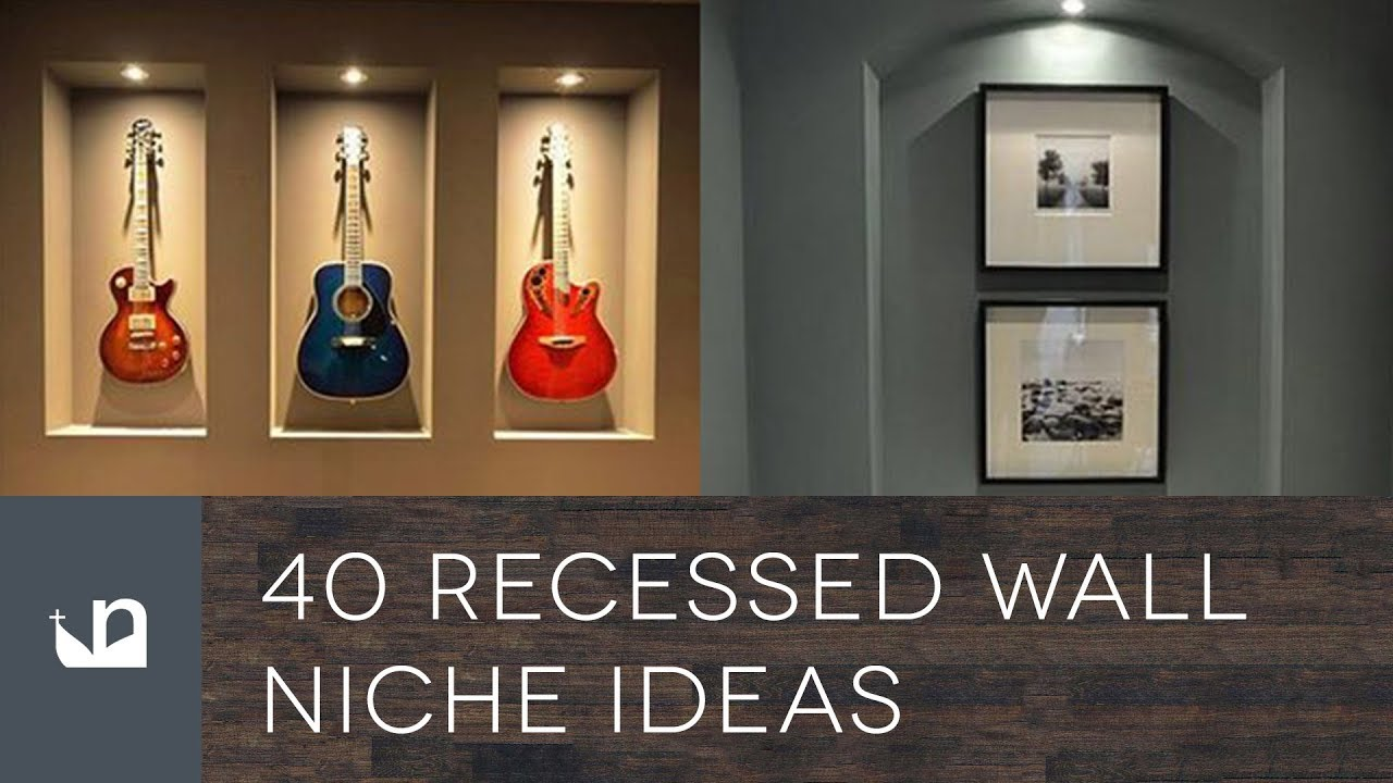 40 Recessed Wall Niche Ideas You