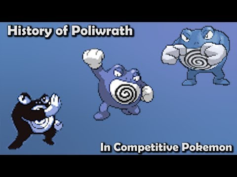 How GOOD was Poliwrath ACTUALLY? - History of Poliwrath in Competitive Pokemon (Gens 1-6)
