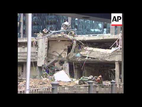 UK: LONDON: CABINET CRISIS MEETING OVER DOCKLANDS BOMBING ...