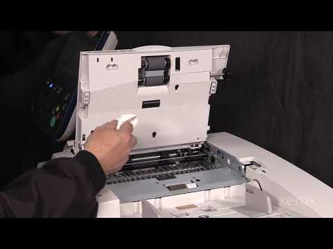 Xerox® Color 550 560 570® Cleaning the DADH Feed Components