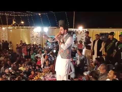 Live Farhan Ali waris in orangi town KArachi 24 March 2018 mehfile milad hazrat Ali (as)