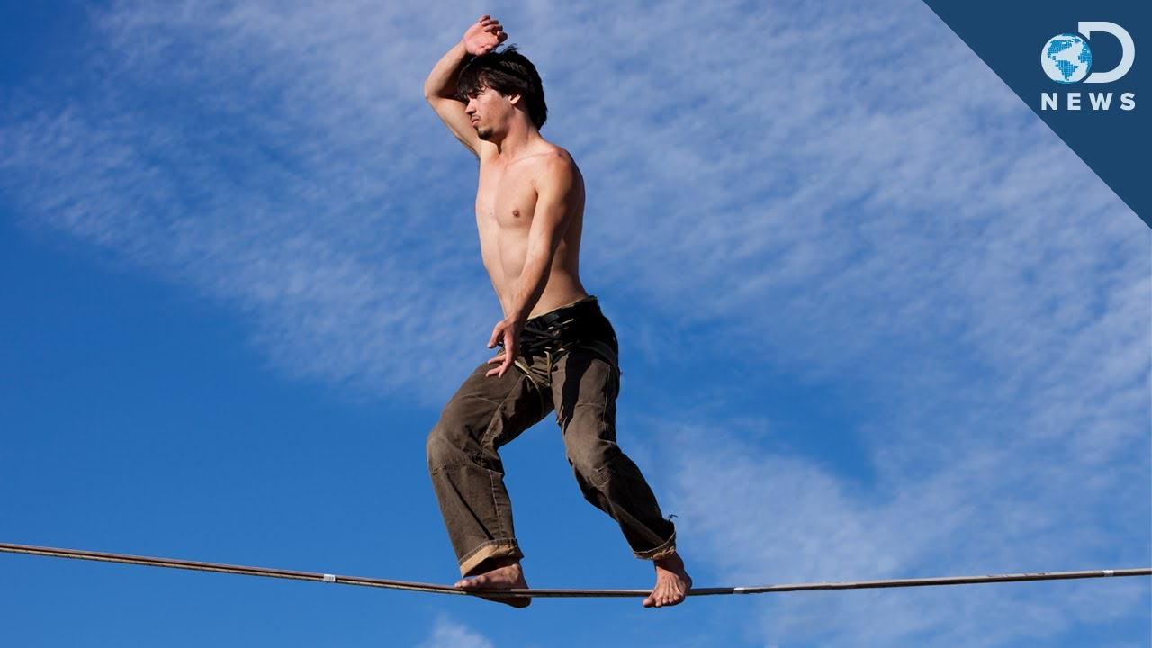 How To Tightrope Walk - YouTube