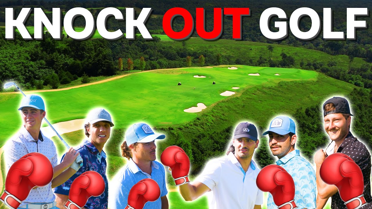 CRAZY KnockOut Golf Challenge @ Ozark National | Good Good