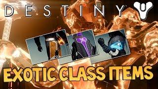 Destiny - How to Get Exotic Class Items, XP Bonuses and Class Emotes!