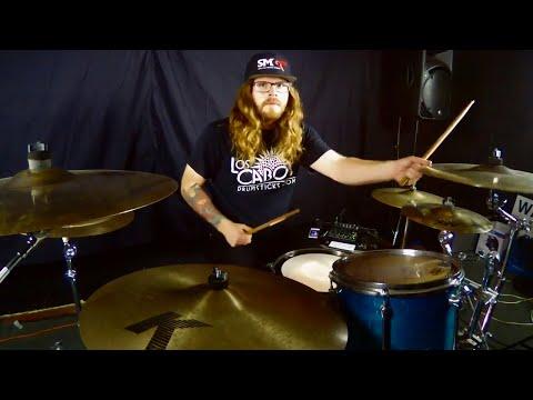 How To Play Like Tomas Haake Of Meshuggah - Free Drum Lesson - Cameron Fleury