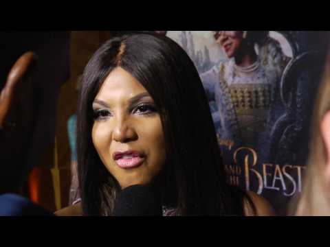 Toni Braxton interview w/ her Kids at Beauty & The Beast premiere