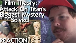 Film Theory: Attack on Titan's Biggest Mystery SOLVED REACTION