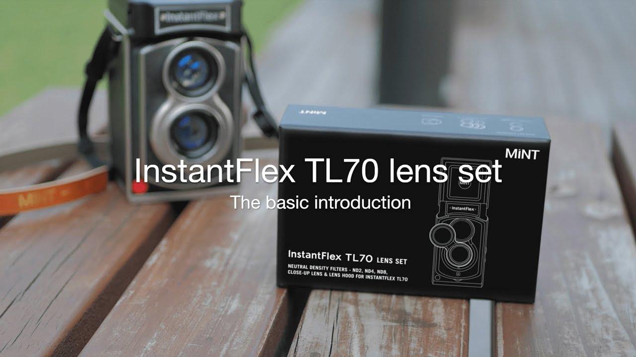MINT TL70 Lens Set ND Filter kit Closeup Lens and Lens Hood