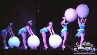 Sugar Blue Burlesque - Balloon Dance