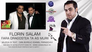 FLORIN SALAM - FARA DRAGOSTEA TA AS MURII (Dan Bursuc Official)